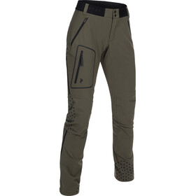 Peak Performance Light - Pantalones de Trekking Mujer - Oliva